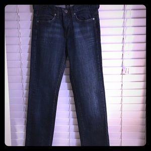 Size 6 dark washed Calvin Klein jeans